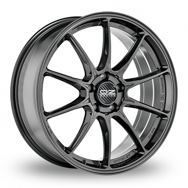 "Picture of 19"" OZ Racing Hyper GT HLT Graphite Wider Rear"