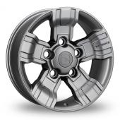 Hawke Osprey Gun Metal Alloy Wheels