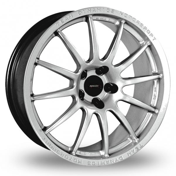 "13"" Team Dynamics Pro Race 1.2 Silver Alloy Wheels"