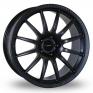 8x18 (Front) & 9x18 (Rear) Team Dynamics Pro Race 1 2 Matt Black Alloy Wheels