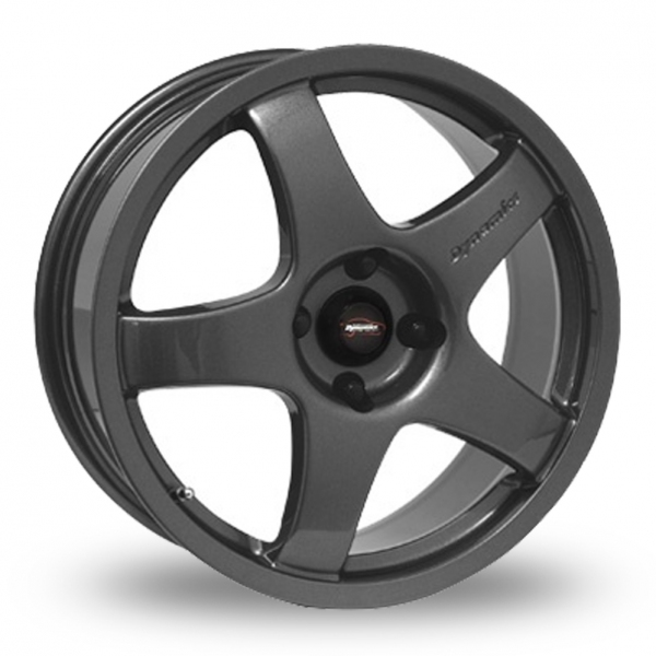 "17"" Team Dynamics Pro Race 3 Anthracite Alloy Wheels"