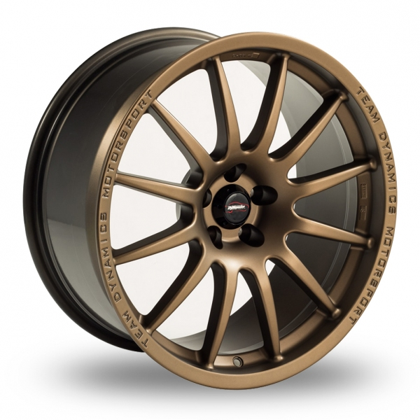 team dynamics pro race 1 2 bronze 17 alloy wheels wheelbase. Black Bedroom Furniture Sets. Home Design Ideas