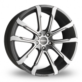 Momo Quantum Evo Anthracite Polished Alloy Wheels
