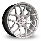 Dare River R-3 Hyper Silver Alloy Wheels
