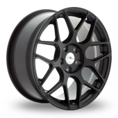 Dare River R-3 Matt Black Alloy Wheels