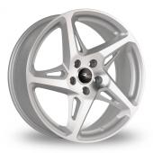 Dare River R-4 Silver Polished Alloy Wheels