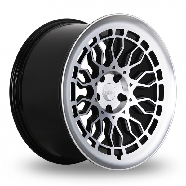 """Picture of 18"""" Radi8 R8A10 Gloss Black/Machined"""