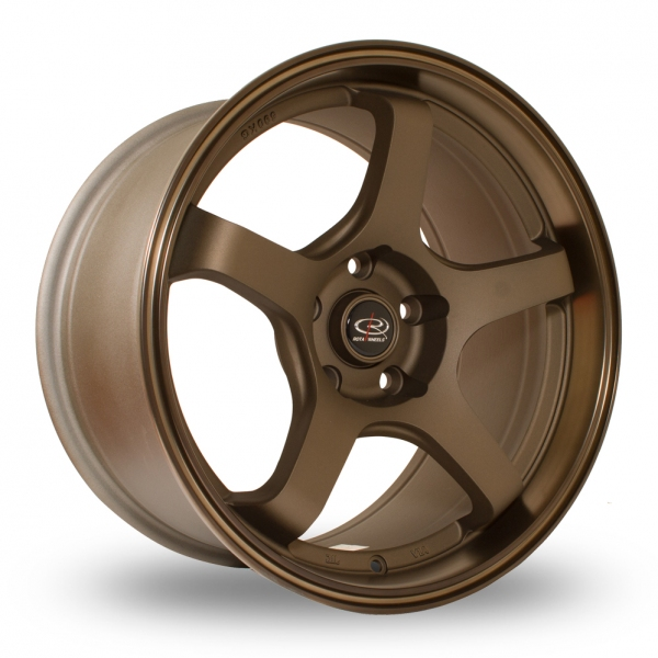 "Picture of 18"" Rota RT5 Bronze"