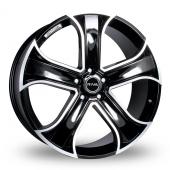 Riva RVR Black Alloy Wheels