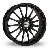Calibre Rapide Matt Black Alloy Wheels