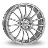 Calibre Rapide Silver Alloy Wheels