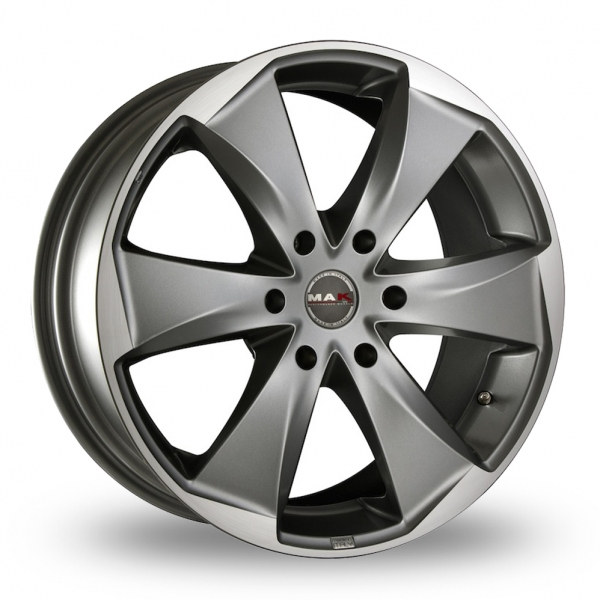 "Picture of 20"" MAK Raptor 6 Graphite Mirror Face"