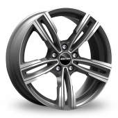 GMP Italia Reven Anthracite Polished Alloy Wheels
