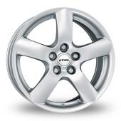 Rial Oslo Silver Alloy Wheels