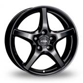 Rial U1 Matt Black Alloy Wheels