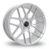 Dare R-7 Matt Silver Tech Alloy Wheels