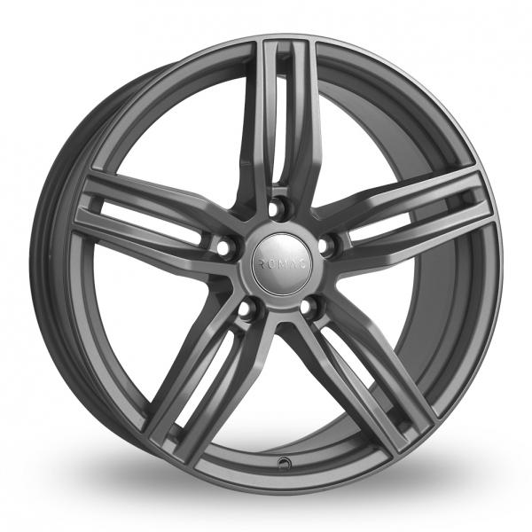 18 Inch Rims And Tires >> Romac Venom Grey Alloy Wheels