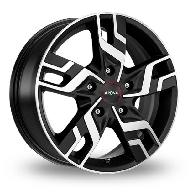 Ronal R64 Black Polished