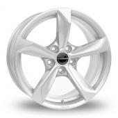 Borbet S Hyper Silver Alloy Wheels