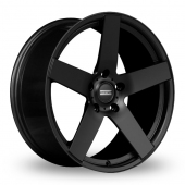 Fondmetal STC-02 Matt Black Alloy Wheels