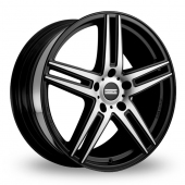 Fondmetal STC-05 Matt Black Alloy Wheels
