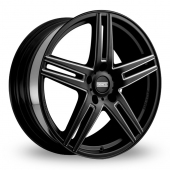 Fondmetal STC-05F Black Milled Alloy Wheels