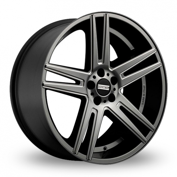 "20"" Fondmetal STC-05F Titanium Milled Alloy Wheels"