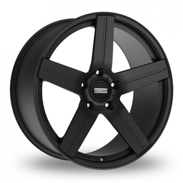 "22"" Fondmetal STC-01 Matt Black Alloy Wheels"