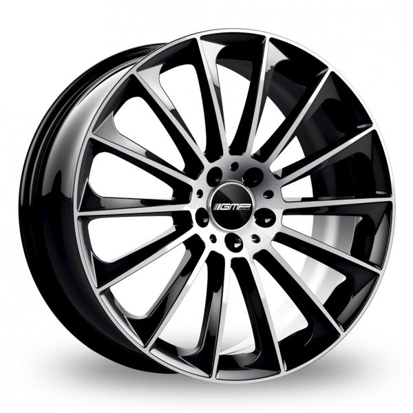 "19"" GMP Italia Stellar Black/Polished Alloy Wheels"