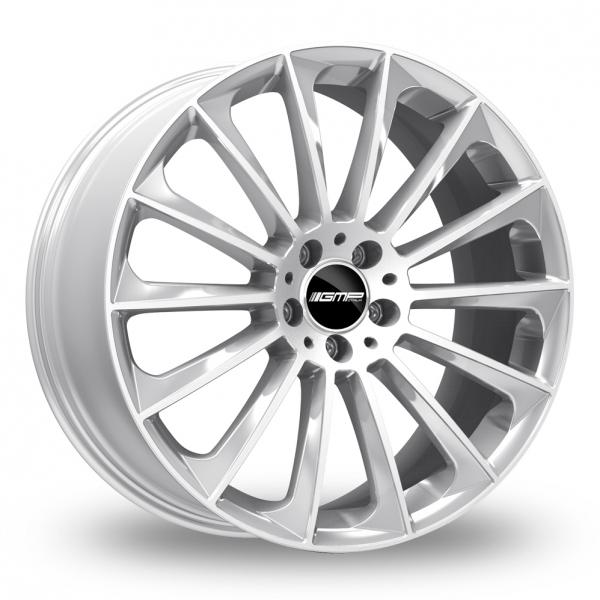 """19"""" GMP Italia Stellar Silver Alloy Wheels"""