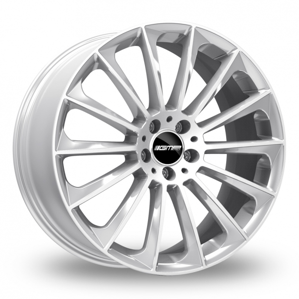 "22"" GMP Italia Stellar Silver Wider Rear Alloy Wheels"