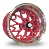 Zito Sakura Pink Alloy Wheels