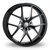 Cades Shift Race Black Polished Alloy Wheels