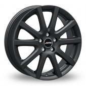 Autec Skandic Matt Black Alloy Wheels