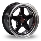 Samurai Spec J Black Polished Alloy Wheels