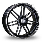 Judd T104 Black Polished Alloy Wheels