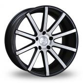 Judd T202 Black Polished Alloy Wheels