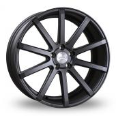 Judd T202 Matt Gun Metal Alloy Wheels