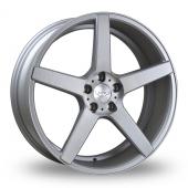 Judd T203 Silver Alloy Wheels
