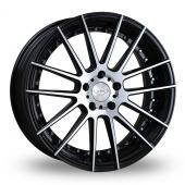 Judd T235 Black Polished Alloy Wheels