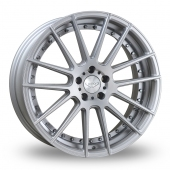 Judd T235 Silver Polished Alloy Wheels