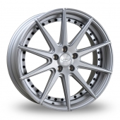 Judd T311 Silver Polished Face Alloy Wheels