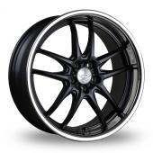 Judd T404 Black Stainless Lip Alloy Wheels
