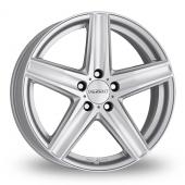 Dezent TG Silver Alloy Wheels