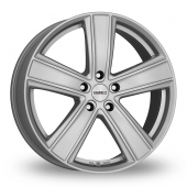 Dezent TH Silver Alloy Wheels