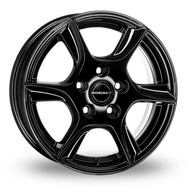 "Picture of 15"" Borbet TL (6 Spoke) Black"
