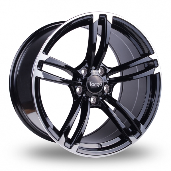 "Picture of 19"" Targa TG1 Black/Polished Wider Rear"