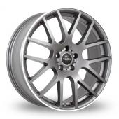SuperMetal Trident Grey Alloy Wheels