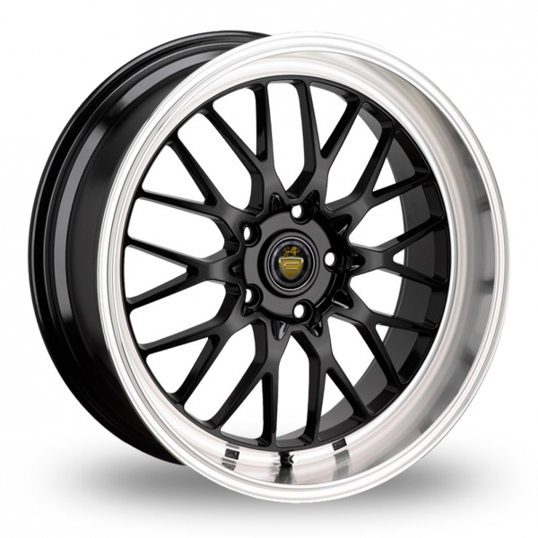 "Picture of 19"" Cades Tyrus Black Wider Rear"