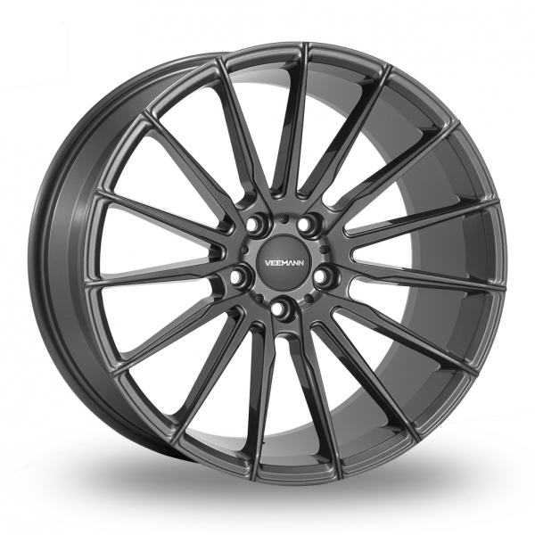 "Picture of 19"" VEEMANN V-FS19 Gloss Graphite Wider Rear"